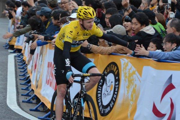 La popularité de Christopher Froome et du Tour de France au Japon...