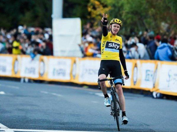 Chris Froome remporte le Vélo d'Or 2013 et succède au palmarès à Bradley Wiggins