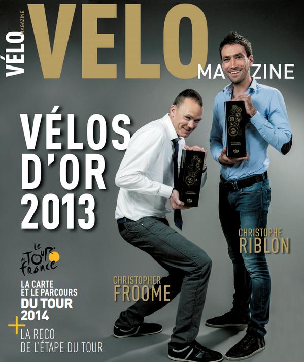 Couverture Velo Magazine Novembre 2013