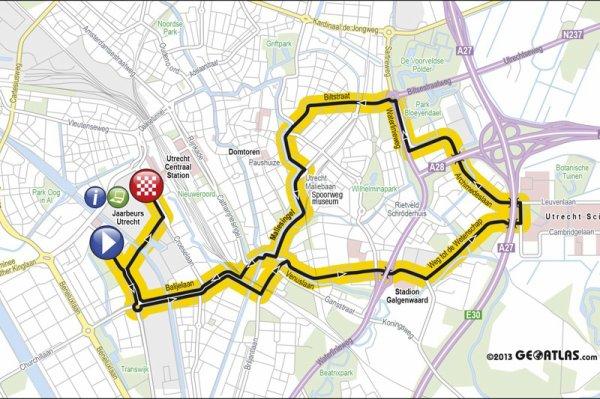 Le Tour de France 2015 débutera avec un contre-la-montre de 13,7 kilomètres