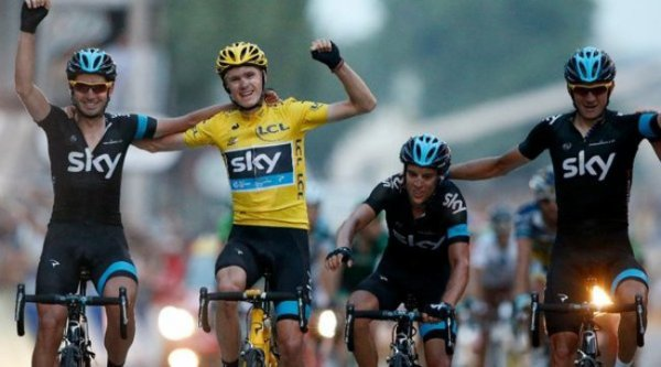 Team Sky 2014 : Chris Froome et ses lieutenants prolongent leur contrat...