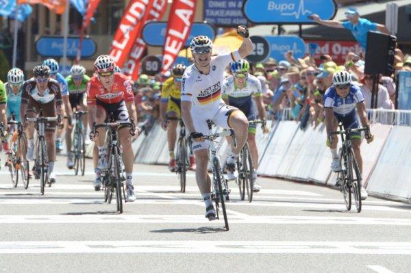 Tour Down Under 2014 (4eme étape) : Première victoire de la saison pour André Greipel