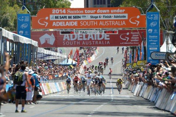 Tour Down Under 2014 (6eme étape) : Greipel vainqueur d'étape, Gerrans remporte le classement général...