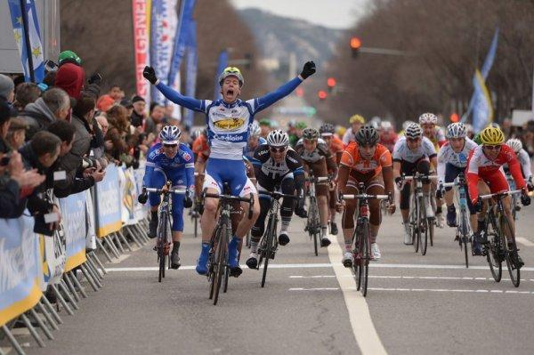 Grand Prix La Marseillaise 2014 : Kenneth Vanbilsen au sprint...