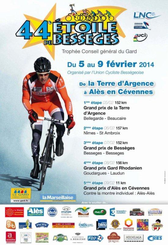 Présentation Etoile de Bessèges 2014