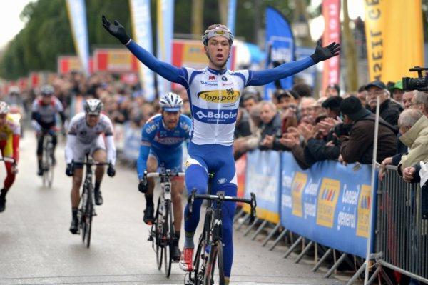 Etoiel de Bessèges 2014 (1ere étape) : Sander Helven s'impose à Beaucaire...