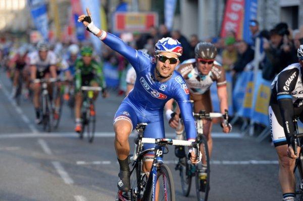 Etoile de Bessèges 2014 (2eme étape) : Nacer Bouhanni l'emporte à Saint-Ambroix...