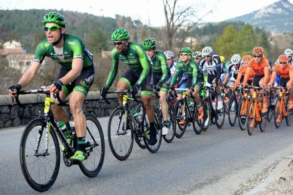 Etoile de Bessèges 2014 (3eme étape) : Bryan Coquard en forme olympique...