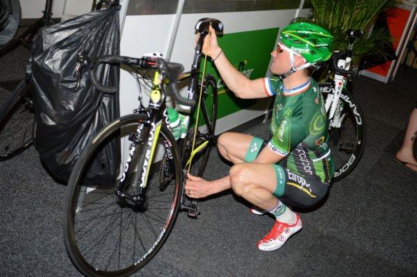 Tour Méditerranéen 2014 : la reprise pour Thomas Voeckler....