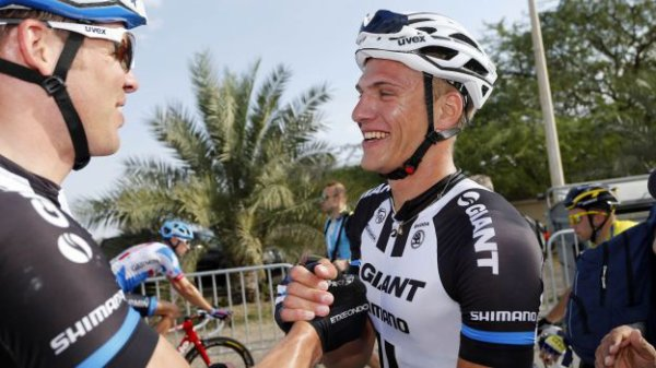 Tour de Dubaï 2014 (4eme étape) : Marcel Kittel vainqueur d'étape pour la 3eme fois consécutive, Taylor Phinney remporte l'épreuve...