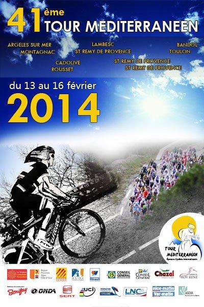 Affiche Officielle Tour Méditerranéen 2014