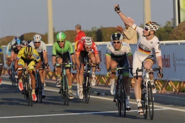 Tour du Qatar 2014 (5eme étape) : Greipel met son grain de sable...