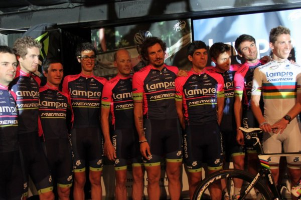 Présentation des  équipes 2014 (7) : Lampre-Merida...