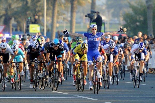 Tour du Qatar 2014 (6eme étape) : Arnaud Démare vainqueur de l'étape finale, Terpstra remporte l'épreuve...