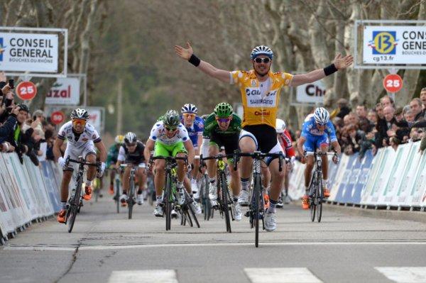 Tour méditerranéen 2014 (2eme étape) : John Degenkolb réitère sa victoire à Rousset...