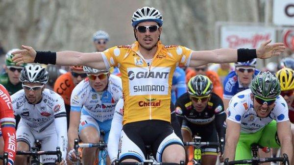 Tour Méditerranéen 2014 (3eme étape) : John Degenkold signe le triplé...
