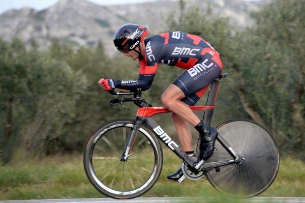Tour Méditerranéen 2014 (4eme étape CLM) : Steve Cummings remporte le contre la montre aux Baux...