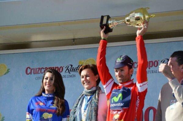 Ruta Del Sol 2014 (2eme étape) : 3eme succès pour Valverde... en 3 jours...