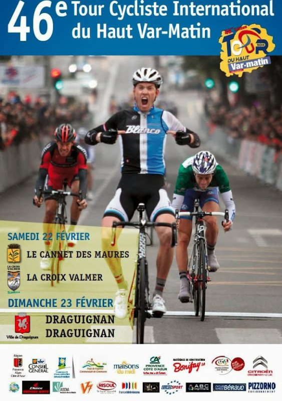 Affiche Officielle Tour du Haut-Var 2014