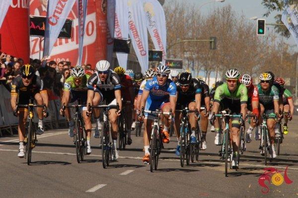 Ruta Del Sol 2014 (4eme étape) : Gerald Ciolek vainqueur du sprint d'un souffle...
