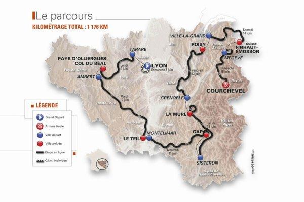 Critérium du Dauphiné Libéré 2014 : le parcours dévoilé
