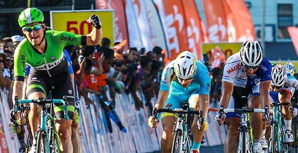 Tour de Langkawi 2014 (9eme étape) : 4eme victoire de Theo Bos sur l'épreuve