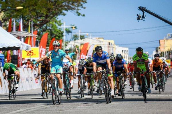 Tour de Langkawi 2014 (10eme étape) : Andrea Guardini vainqueur au sprint de la dernière étape, Mirsamad Pourseyedigolakhour se fait un nom