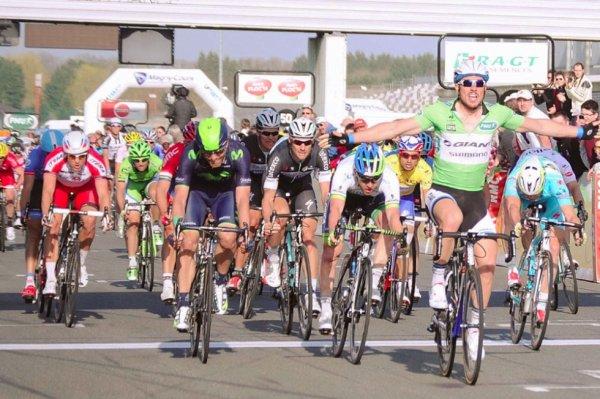 Paris-Nice 2014 (3eme étape) : John Degenkolb plus véloce à Magny-Cours