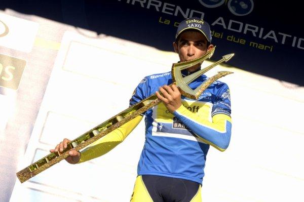 Tirreno-Adriatico 2014 : Alberto Contador remporte la victoire et le trophée