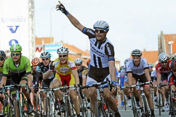Tour de Catalogne 2014 (1ere étape) : Luka Mez vainqueur et premier leader