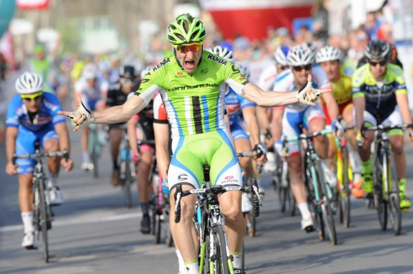 Semaine Internationale Coppi e Bartali 2014 (3eme étape) : Elia Viviani fait le forcing et s'impose