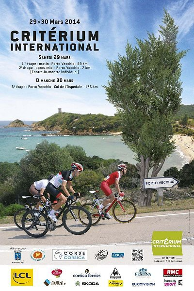 Affiche Officielle Critérium International 2014