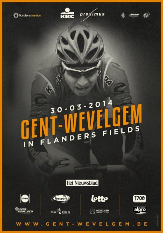 Affiche Officielle Gand-Wevelgem 2014