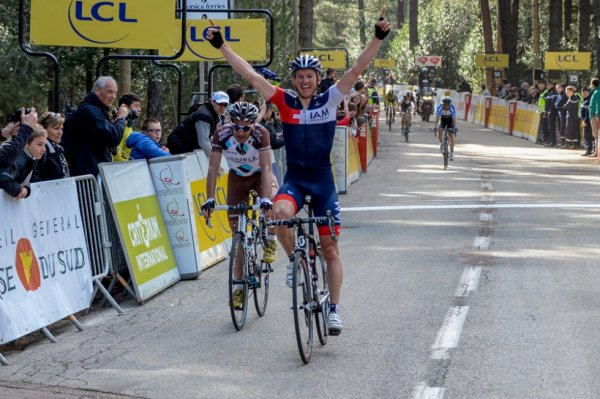 Critérium International 2014 (3eme étape) : Mathias Frank vainqueur à l'Ospedale, Jean-Christophe Péraud remporte sa 1ere course à étapes