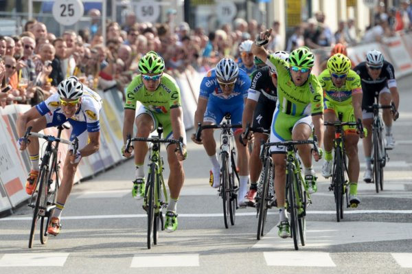 Trois Jours de la Panne 2014 (1ere étape) : Peter Sagan gagne malgré lui...