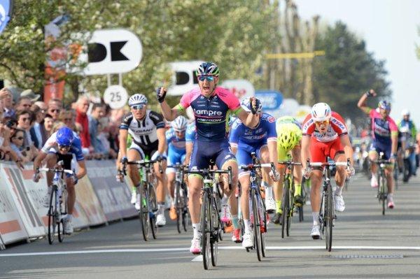 Trois Jours de La Panne 2014 (2eme étape) : Modolo gagne au sprint, Steegmans devient leader