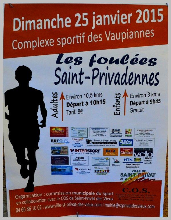 Foulées St Privadennes 2015 - St Privat des Vieux (30)