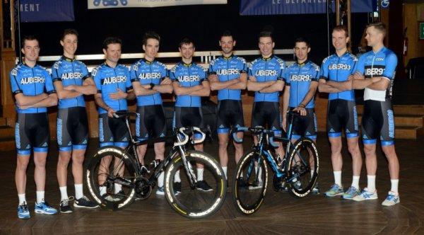 Présentation de l'équipe cycliste Aubervilliers 93 2015 (D3)