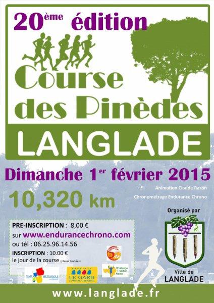 Course pédestre des pinèdes à Langlade (Gard)