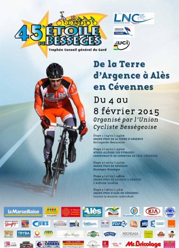 1ere course par étapes en Europe de la saison, L'Etoile de Bessèges débute demain...