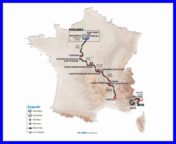 Paris-Nice 2015 : la parcours dévoilé aujourd'hui