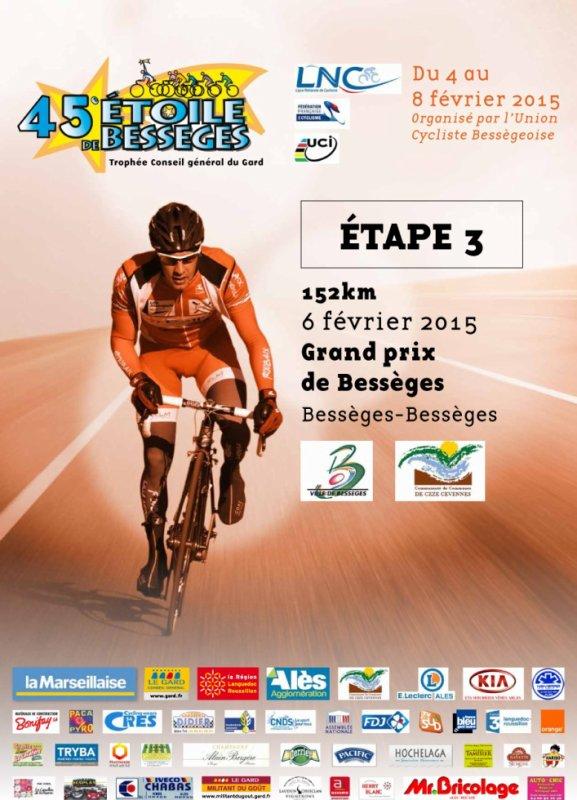 Etoile de Bessèges 2015 (3eme étape Grand Prix de Bessèges) 152 km