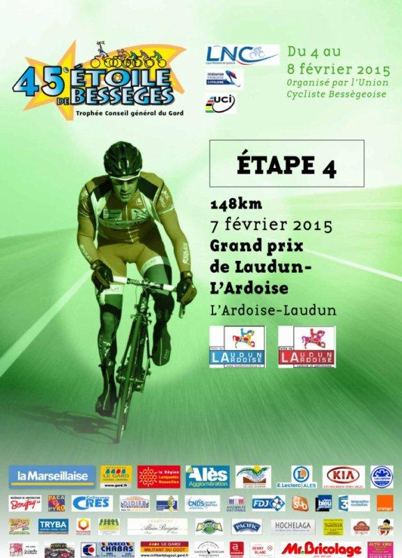 Etoile de Bessèges 2015 (4eme étape Grand Prix de Laudun l'Ardoise) 148 km