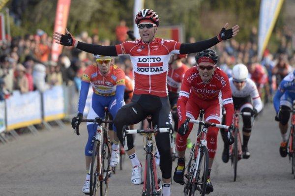 Etoile de Bessèges 2015 (4eme étape Grand Prix de Laudun-L'Ardoise) : Tony Gallopin s'impose au mur de Laudun