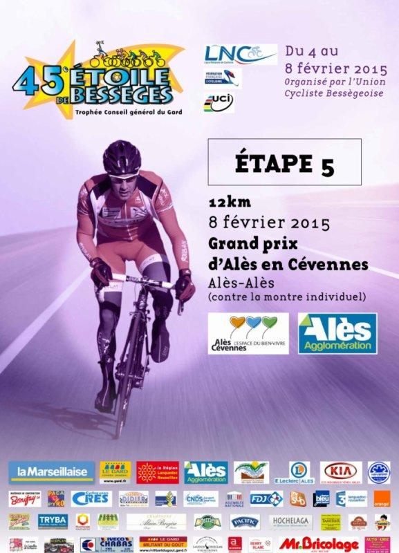 Etoile de Bessèges 2015 (5eme étape Grand Prix d'Alès en Cévennes)