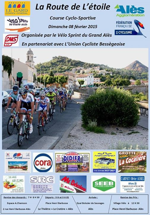 Affiche Cyclosportive La Route de L'Etoile 2015