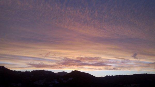 Crépuscule sur Alès
