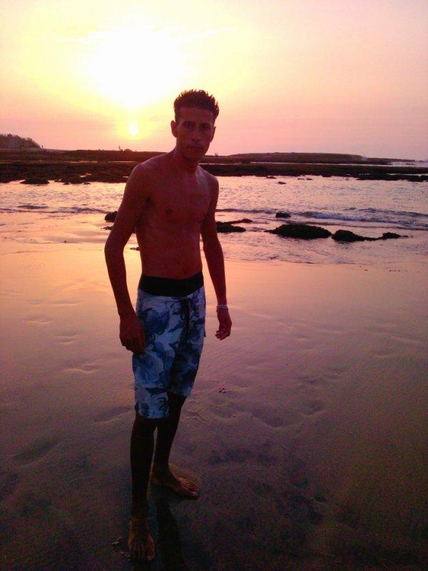 au plage
