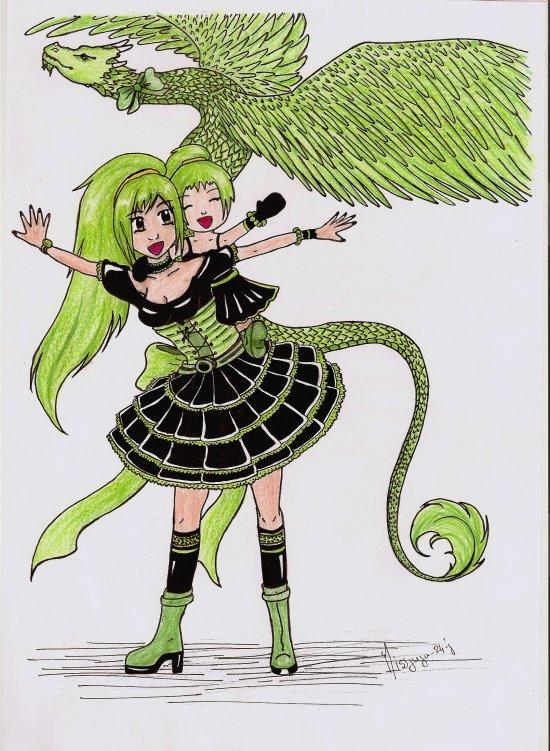 Dessin Concours : Sweet Lolita et/ou  Gothic Lolita de Sika-Chan