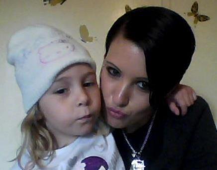 moi et ma petite niece d'amour
